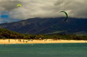 Kites over Kahului